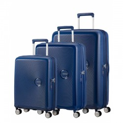 SET 3 MALETAS AMERICAN TOURISTER SOUNDBOX 55, 67 Y 77 CM