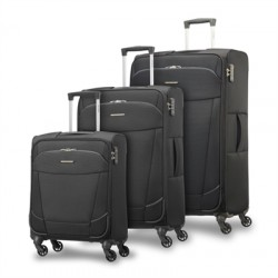 SET DE 3 MALETAS SAMSONITE ARTOS, CABINA 55 CM, MEDIAN Y GRANDE
